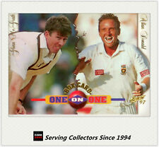 1997/98  Select Cricket Trading Cards BOX CARD B1: A.Donald/G.McGrath
