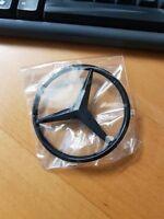 Mercedes Emblem Stern schwarz HECK selbstklebend Mercedes Benz #2058174500 82mm