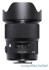 Sigma 20mm/1,4 DG HSM Art Weitwinkel Objektiv für Nikon