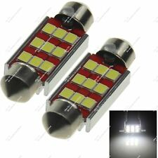 2X 39MM 38MM 6475 9 SMD 3528 LED Festoon Light Bulb Canbus Error Free Car Z20119