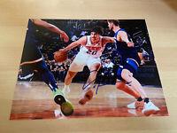 Dario Saric Phoenix Suns Croatia NBA Booker Autographed Signed 8X10 Photo W/COA