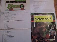 BJU Science 2 set (2nd ed)