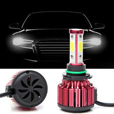 2x CREE LED Headlight Car High Or Low Front Bulb 9006 4-Sides 240W 24000lm 6000K