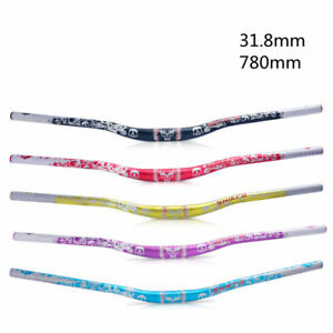 780MM Handlebar Aluminum Alloy 31.8mm Lightweight Long Riser Bars MTB Road Bike
