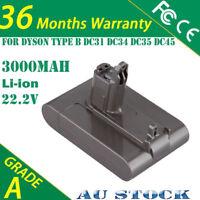 3.0Ah 22.2V Battery For Dyson TYPE B DC31 DC34 DC35 Animal DC44 17083-2811