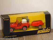 Jeep Willys Pompier van Solido 3304 France in Box *18855