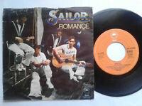 "Sailor / Romance 7"" Vinyl Single 1977 mit Schutzhülle"