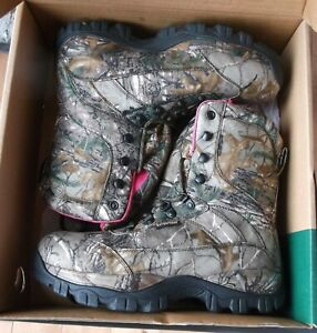 ITASCA CARBINE REALTREE  Xrta HUNTING BOOTS  WOMENS Size 10