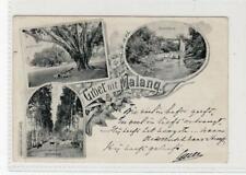 GROET UIT MALANG: Netherlands East Indies postcard (C51993)