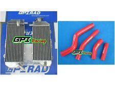 FOR YAMAHA WR450F WRF450 WR 450F 2012 - 2015 2014 2013 aluminum radiator & HOSE