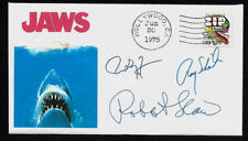 Jaws Collector Envelope Autograph Reprints and Genuine 1970s Stamp *1282