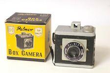 F97179~ 1955 Palmer Box Camera By Rocket Camera Co, – With Box – Takes 120 Film