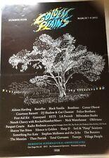 Golden Plains Tour March 2015 Poster