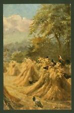 "Harry Payne - ""Marauders"" - Tuck's ""Oilette"" ""Kentish Pastures"" Postcard"