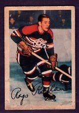 1953-54 Parkhurst #79 Clarence Rags Raglan Chicago Black Hawks VG