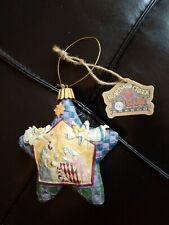2004 Enesco Heartwood Creek Star Christmas Ornament Jim Shore Nativity Angels Wt
