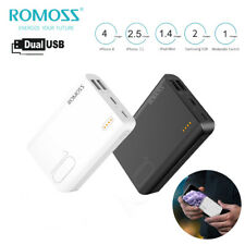 Romoss Power Bank 10000mAh Doppio USB Batteria Esterna Caricabatteria Portatile