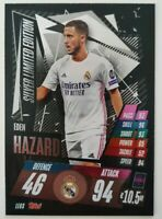 2020/21 Match Attax UEFA Champions League - Eden Hazard Silver Limited LE6S