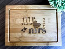 Personalised Chopping Board, Presentation Serving or Cheese Board - Wedding Gift