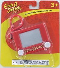 Mini ETCH A SKETCH Drawing Toy Ohio Art 50120 w/ Clasp Miniature Doll Key NEW