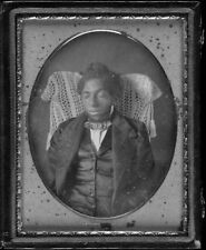 Photo. 1854. Postmortem - Young African American (Black) Male