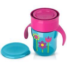 Philips Avent BPA Free My First Big Kid Cup 360degree, 9m+  9 Oz Blue SCF782/54