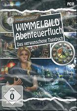 PC CD-ROM + scrutare avventura maledizione + verwunschene il diario + Win 8