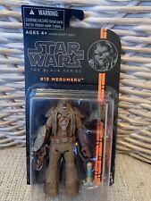 Star Wars Black Series Merumeru Figure WARNING READ DESCRIPTION