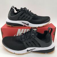 Nike Air Presto Womens 878068-005 Black White Gum Running Shoes Multi Size NEW