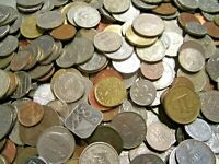 Foreign World Coins - One Half (1/2 lbs) Pound Lot -FREE SHIPPING