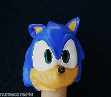 DELUXE SONIC THE HEDGEHOG HALLOWEEN CARTOON  CHARACTER MASK LATEX CHILD-SIZED