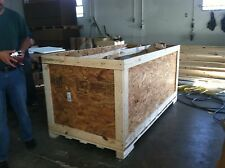 WOOD CRATE SHIPPING CRATE ISPM-15 APPROVED IPPC STAMPED CRATES FOR SHIPPING ART