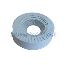 Lamellenband Abschlussband 10m x 30mm hellgrau für PUR Rohrisolierung Isolierung