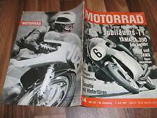 MOTORRAD vom 1.7.1967 -- YAMAHA 350 Fahrbericht / PUCH Rennmotoren / JAWA-Rennm.
