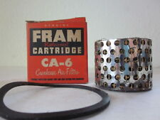 Fram CA-6 Crankcase Air Filter 1952-59 Ford & truck, Lincoln, Mercury NOS