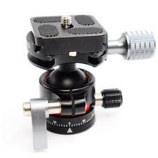 E1 Tripod Ball Head mini Ballhead with Quick Release Plate For Camera Tripod