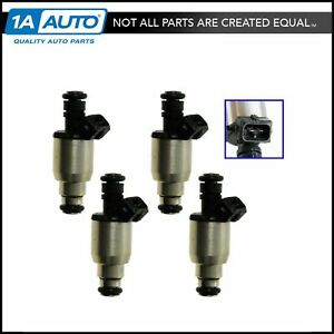 Fuel Injector Set of 4 Kit for Saturn SL2 Sedan SC2 Coupe SW2 Wagon DOHC