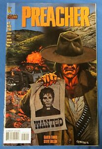 Preacher #2 : DC Vertigo 1995 : 1st Arseface : Garth Ennis Steve Dillon