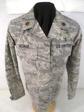 USAF Tiger Stripe Camouflage Woman's Combat BDU Coat Jacket or Shirt - SZ 14 Reg