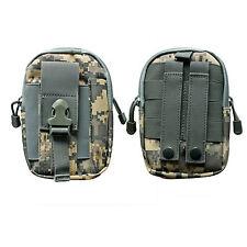 Men Military Tactical Waterproof Waist Pack Purse Mini Outdoor Sport Bag Black