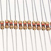 100PCS/set 1/4W 0.25W 5% 1 K OHM Carbon Film Resistor 1st Class Postage Newly