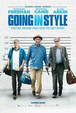 """GOING IN STYLE Poster [Licensed-NEW-USA] 27x40"""" Theater Size Morgan Freeman"""