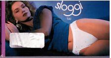 Stock 6 Slip donna Sloggi Luxe Tai bianco tg.1