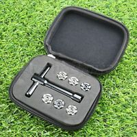 1Set Weights(2.5g+4g+5.5g+7g+8.5g+10g)+1Pc Wrench Golf Weight For Ping G25 Black