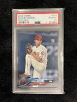 2018 Topps #700 Shohei Ohtani Pitching Angels RC Rookie PSA 10 GEM MINT
