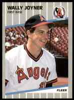 1989 Fleer Wally Joyner #481