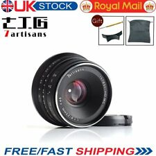 Uk 7artisans 25mm F1.8 Manual Fixed Lens 12 Blades Aluminum Mount For Fuji Camer