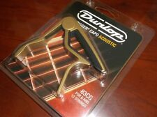 NEW - Dunlop Trigger Capo For Acoustic Guitar, #83CG - GOLD