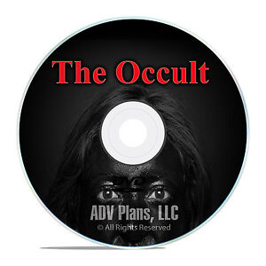 400 Books on Demonology, Occult, Paganism, Witchcraft, Wicca, Crowley on DVD F48