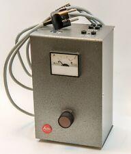 Transformator von Leitz - für Beleuchtung bei Mikroskopen 2-10 Volt